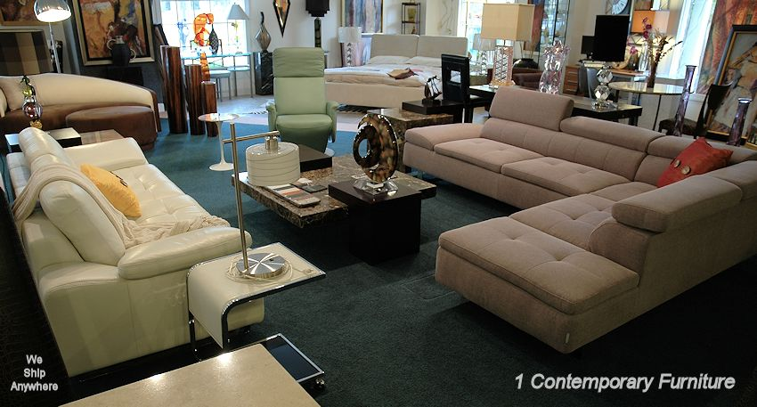 Contemporary Furniture Showroom