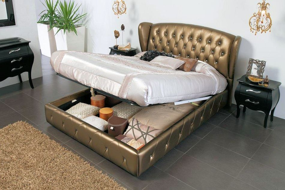 Lift Up Beds Storage : Storage bed lift up