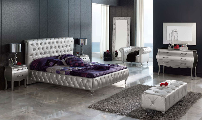 Bedroom Sets Glass 1 contemporary furniture ® - product page