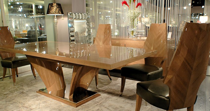 Contemporary Light Dining Set