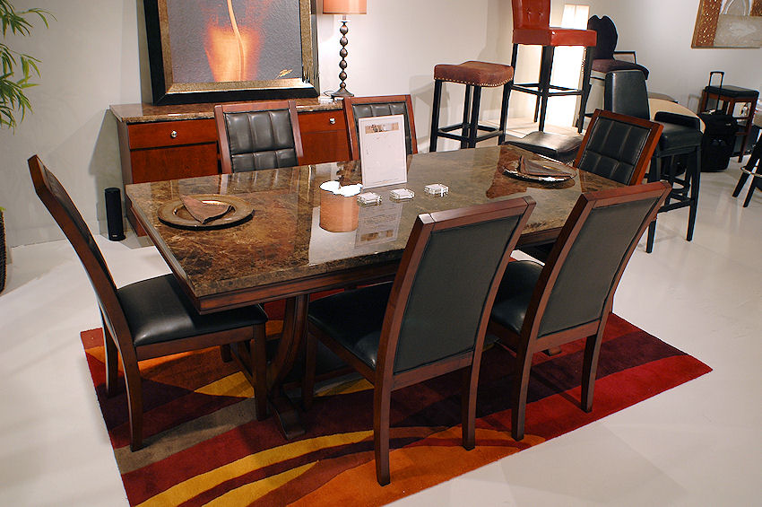 Stone Top Dining Room Table Fine Dining Room Furniture Sets Trend Home  Design And Decor