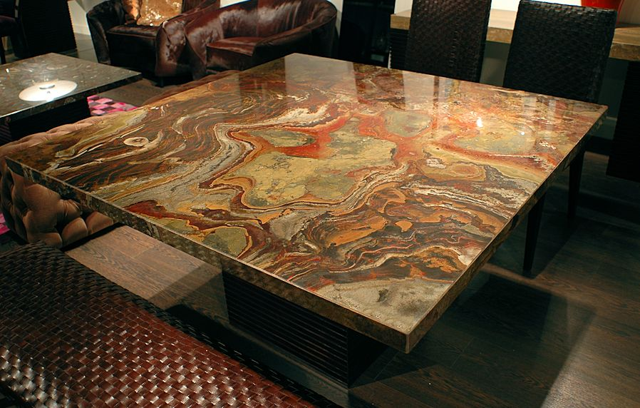 Square wood coffee table - 1 Contemporary Furniture 174 Product Page