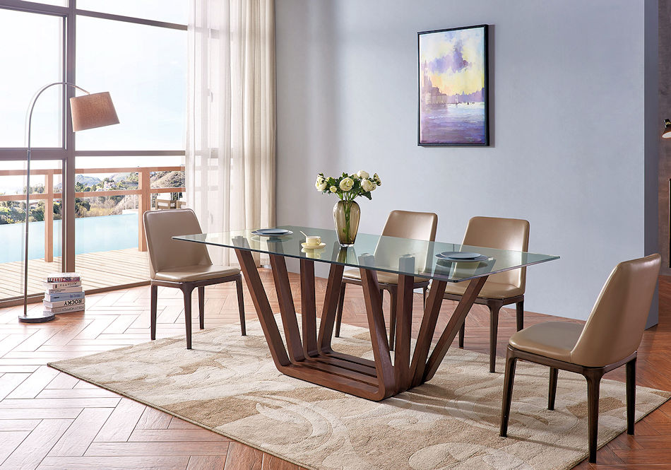 1 Contemporary Furniture 133 Dining Table