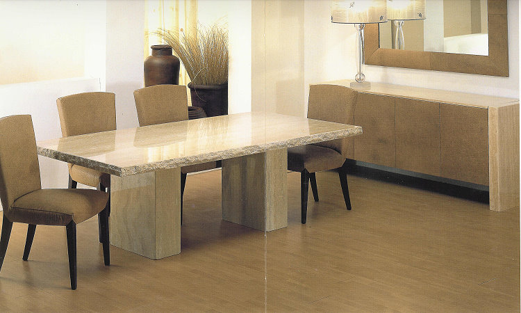 1 Contemporary Furniture 174 Product Page : siWhiteTravertineCustom from www.1contemporary.com size 750 x 450 jpeg 84kB