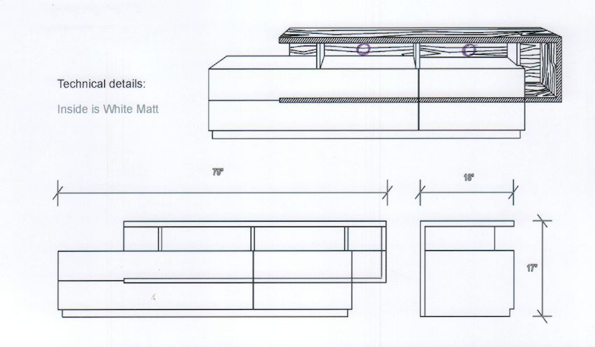 TV Stand Specs