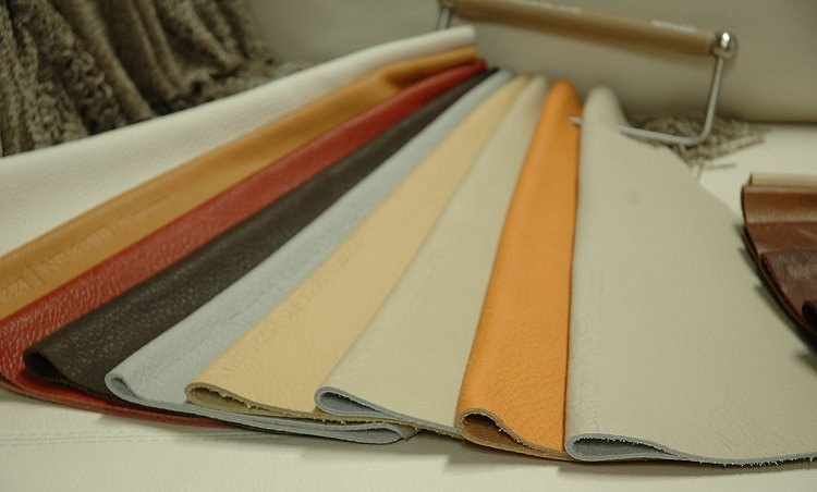 Natuzzi Italy Leather Samples