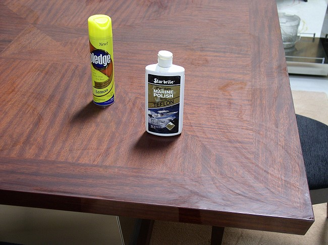 ... You Can Repair This High Gloss Finish (above) In Minutes Using No Tools  In Your Home With Products Purchased At Wall Mart. We Are Going To Show You  How.