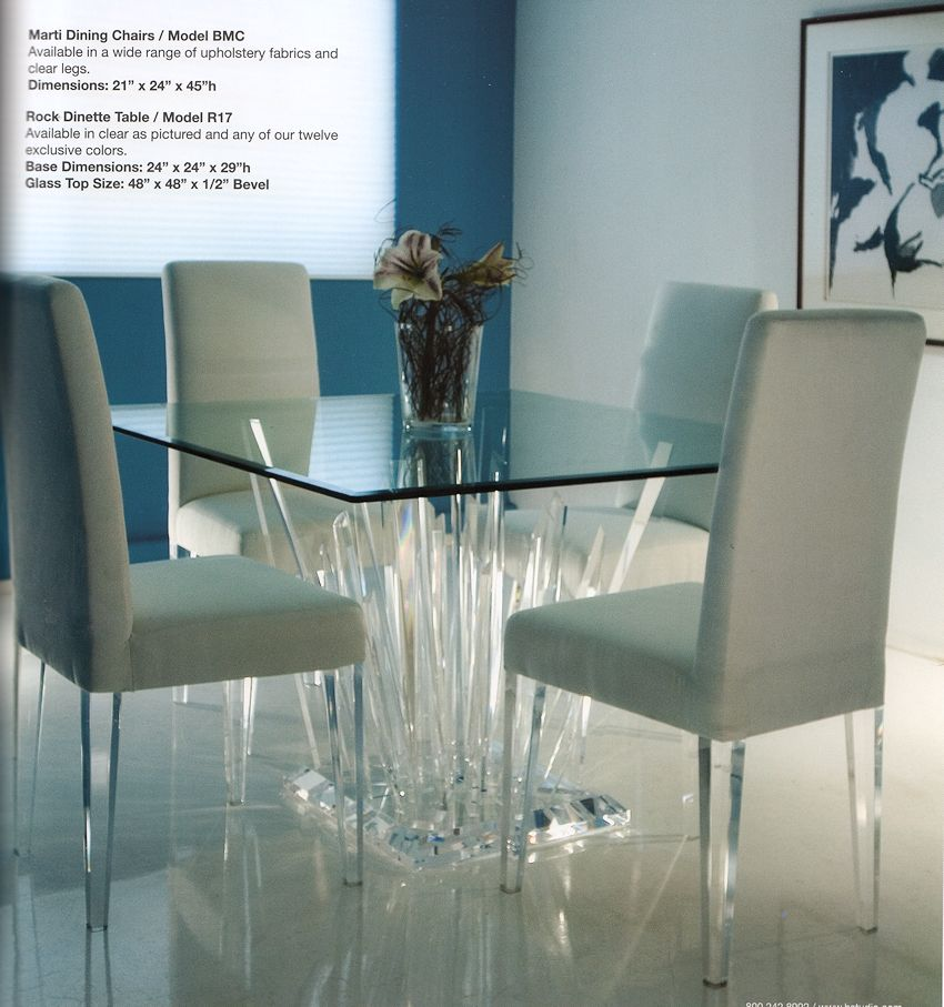 Modern Acrylic Table. 1 Contemporary Furniture     Product Page