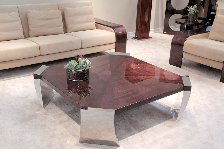 Contemporary wood table