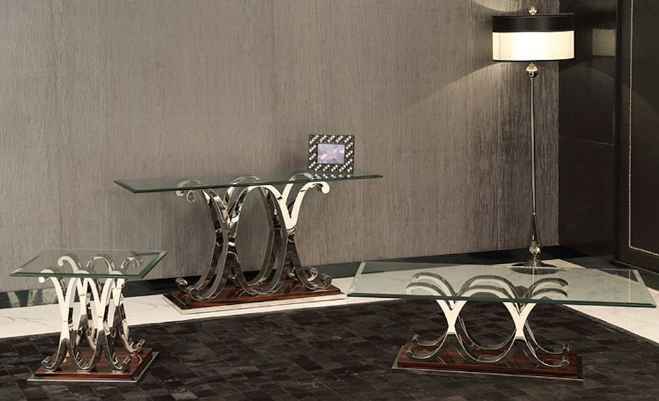 Modern Glass Top Tables