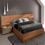Contemporary Walnut Bedroom Spain