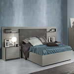 Italian Bedroom Set in Grey