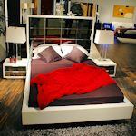 Glass Bed Set