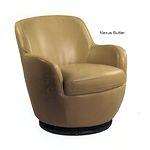 Leather Swival Chair