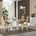 Italian Dining Set in White