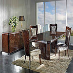 Contemporary High Gloss Dining