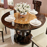 Contemporary Round Dining