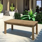 Teack Outdoor Bench