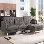 Modern Fabric Sleeper Sectional