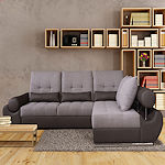 Contemporary Sleeper Sectional