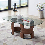 Contemporary Glass Top Tables